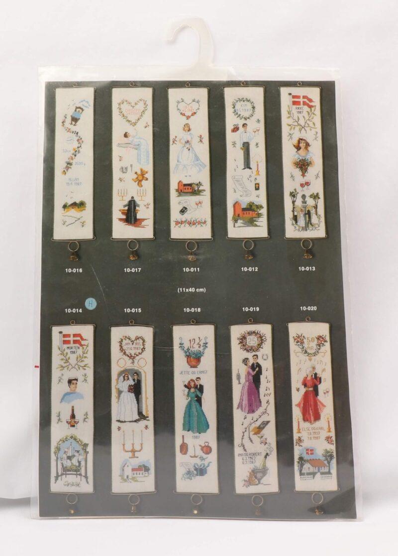 Broderi Kit - Copenhagen embroideries 10-014 -