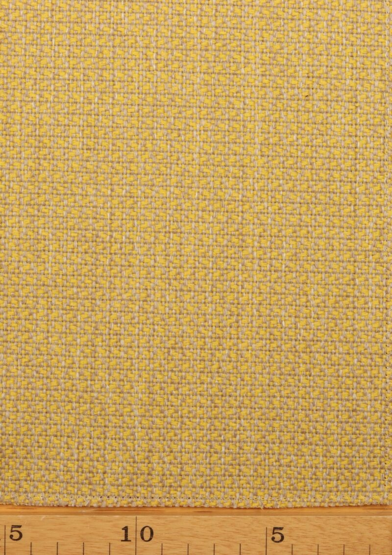 Lys gul/lys natur møbelstof - Uld/polyester -