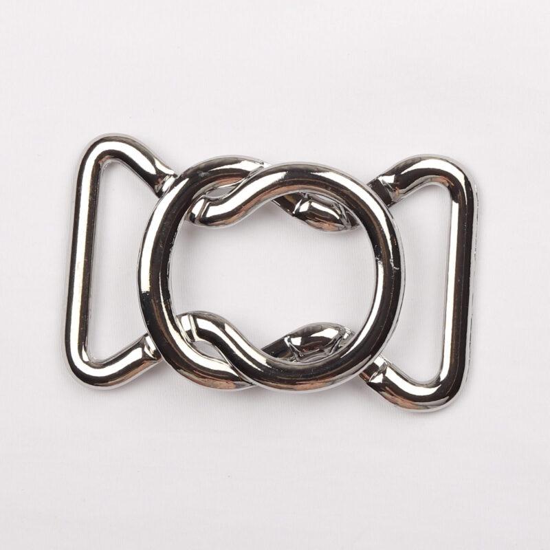 Spænde, sølv 30 mm -