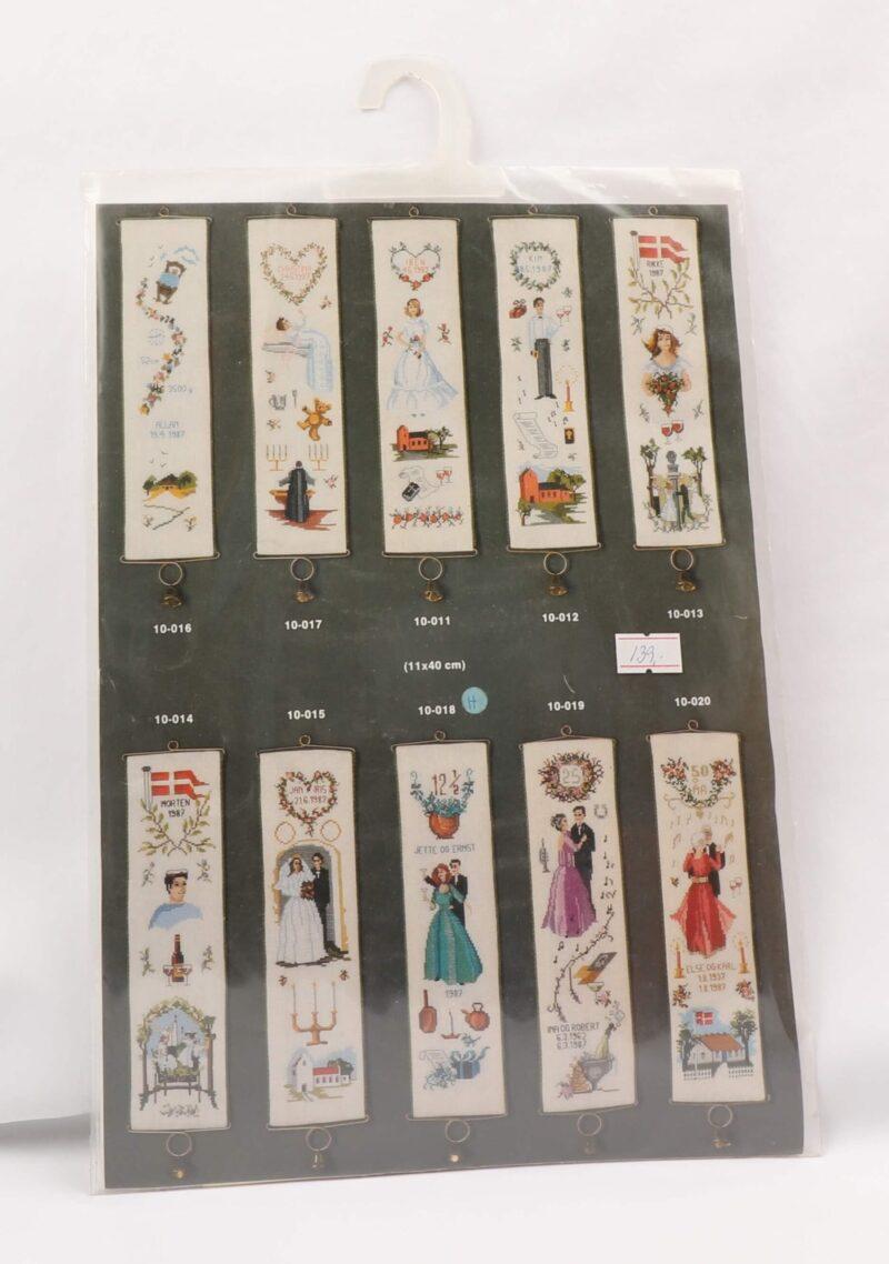 Broderi Kit - Copenhagen embroideries 10-018 -