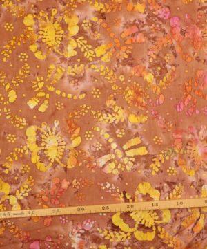 Patchwork - Batik m. sommerfugle -