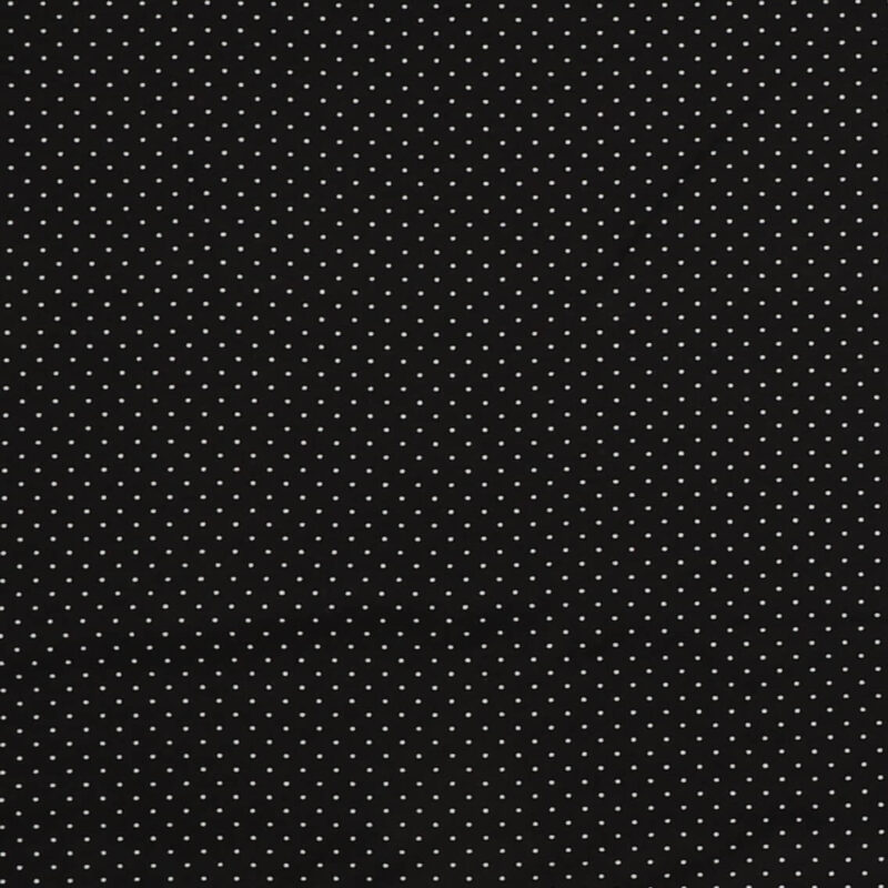 Små hvide prikker på sort - Jersey -
