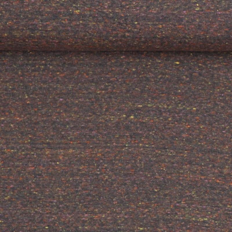 Støvet lavendel m. farvede nister - Rib -