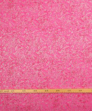 Glimmer, pink med sølv - Patchwork -