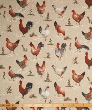 Haner og høns - Boligtekstil -