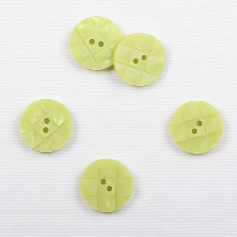 Æblegrøn m. mønster, ø 18 mm -