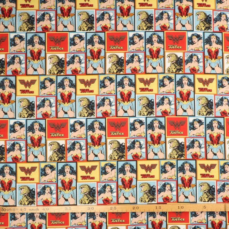 Wonder Woman - Patchwork -