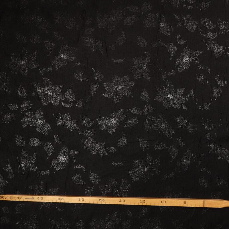 Sort m. sølv - Polyester -