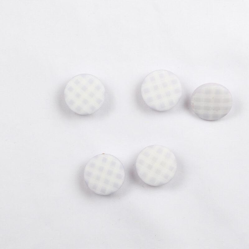 Lyselilla/hvid, ø 13 mm -