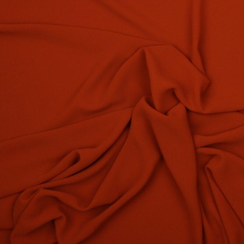 Rust - Chiffon, polyester -