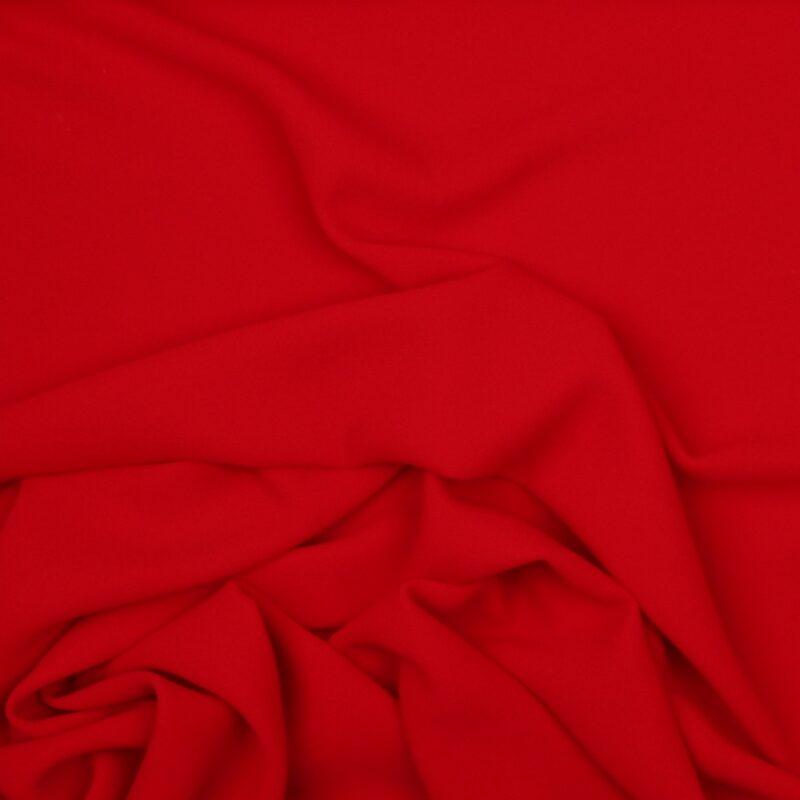 Rød - Chiffon, polyester -
