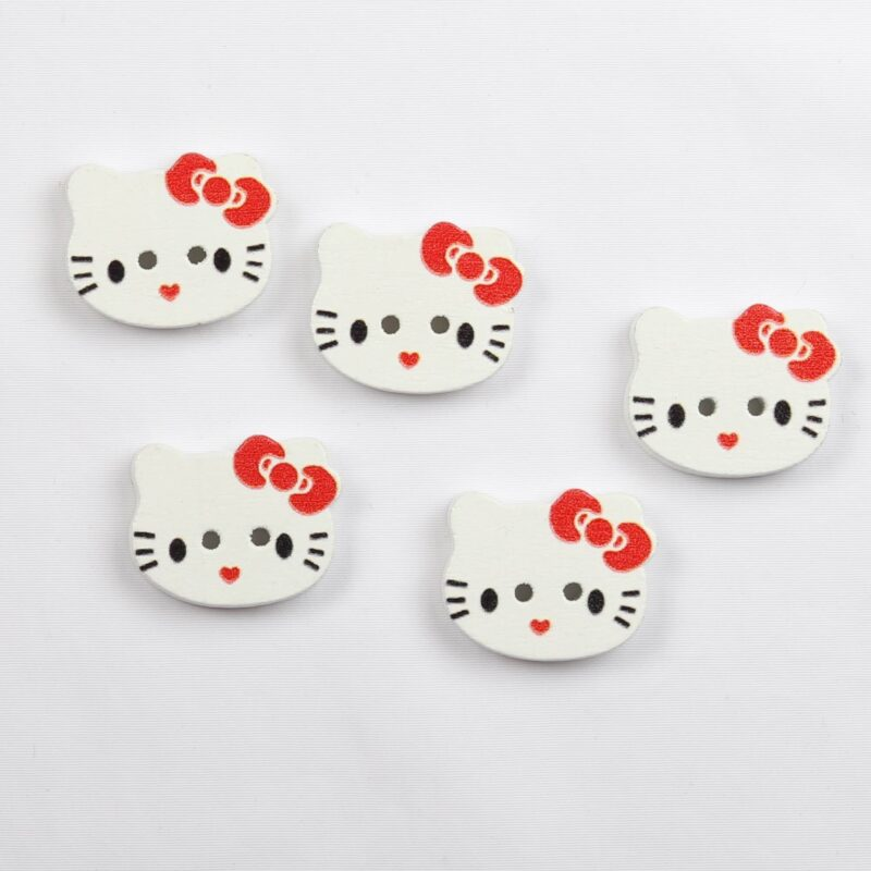 Hello Kitty, 15x20 mm -
