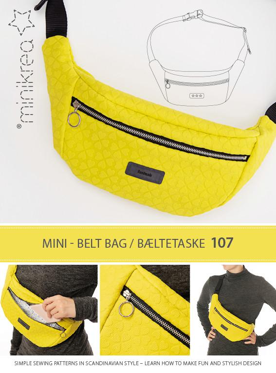 Bæltetaske - Minikrea 107 - Minikrea