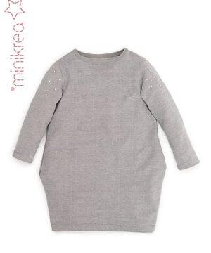 Sweat kjole str. 2-14 år – minikrea 33040 -