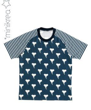 Raglan T-shirts, str.2-16 år / XS-XXL - Minikrea 66220 -