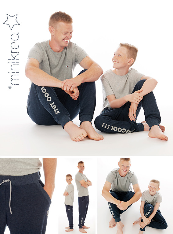 Sweatpants, str. 2-16 år / str. XS-XXL - Minikrea 66340- Minikrea