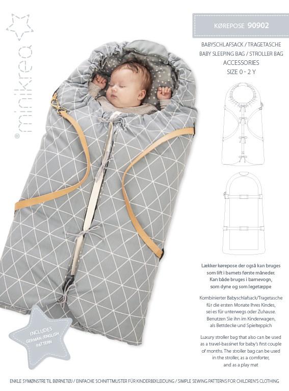 Baby Kørepose - Minikrea 90902 - Minikrea