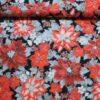 Juleblomster i rød - Patchwork -