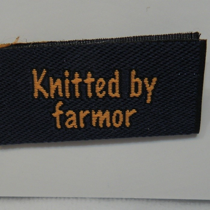 Knitted by farmor -