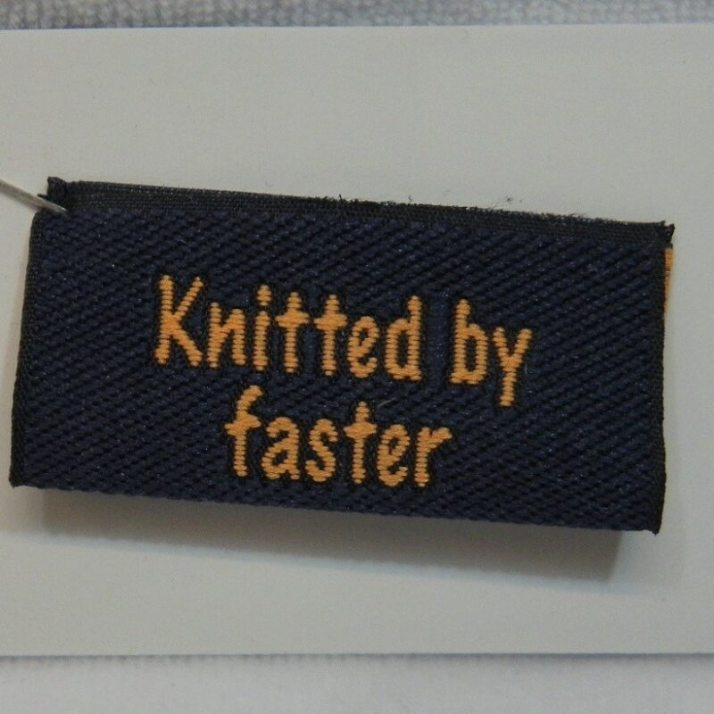 Knitted by faster -