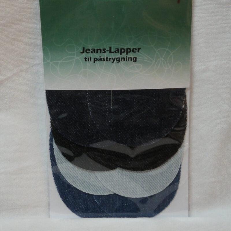 8 Jeans lapper til påstrygning -