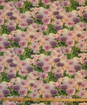 Blomster i lyserød og lilla – Jersey