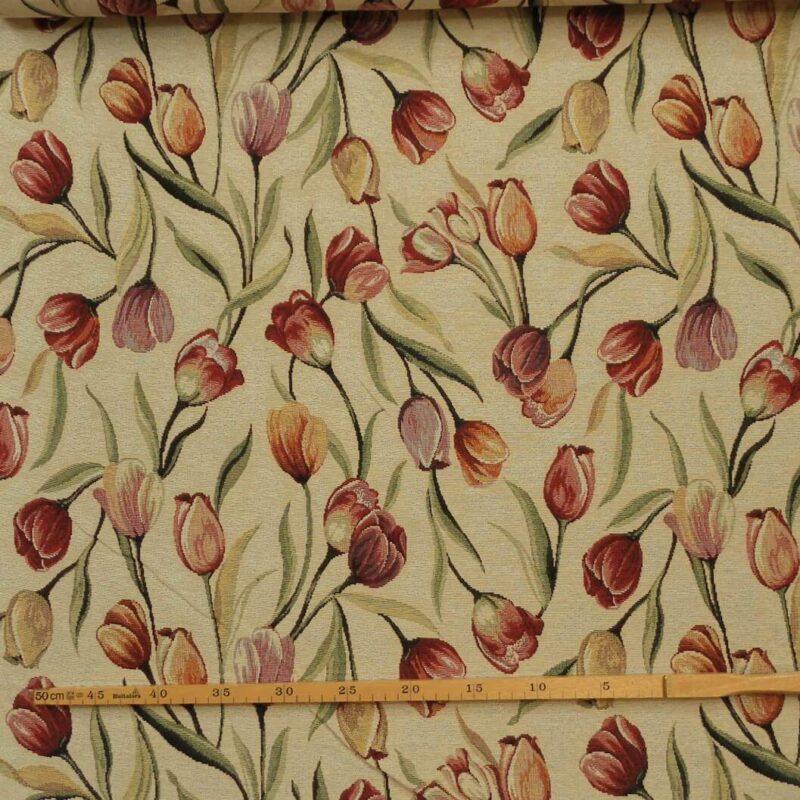 Tulipaner - Møbelstof - Info mangler