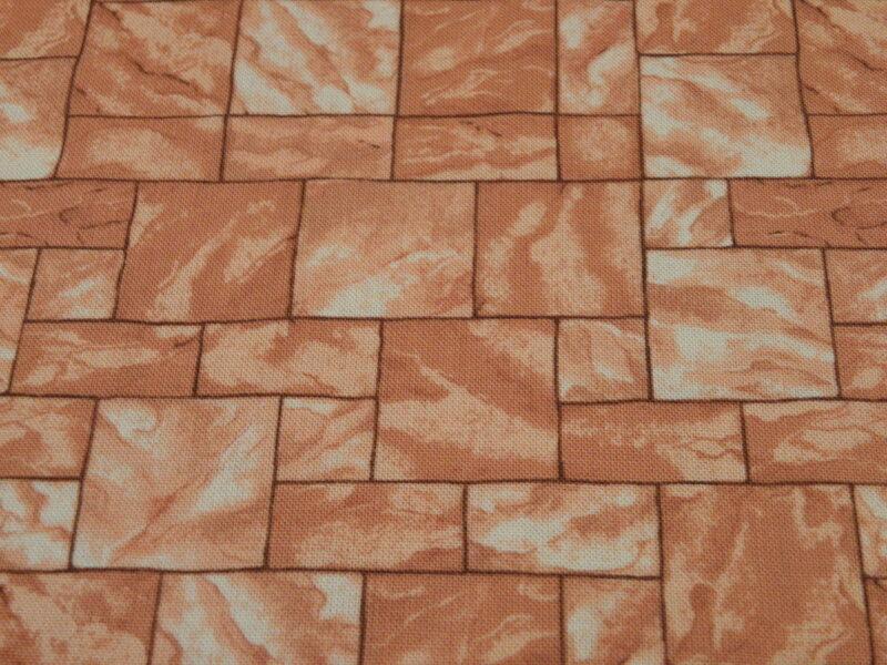 Mursten i en bleg rødbrun farve -