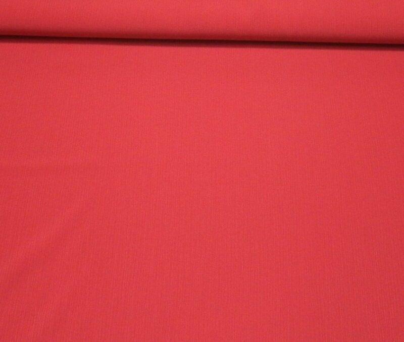 Rød crepe chiffon, viskose/polyester -