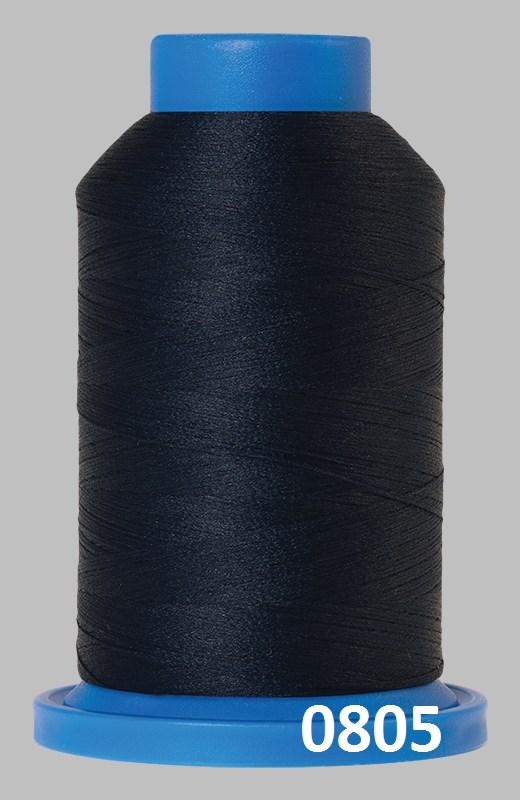 Seraflock fra Amann Mettler, elastisk sytråd - Mørkeblå -