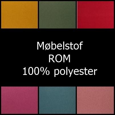 ´Rom Møbelstof, mange fine farver - Info mangler