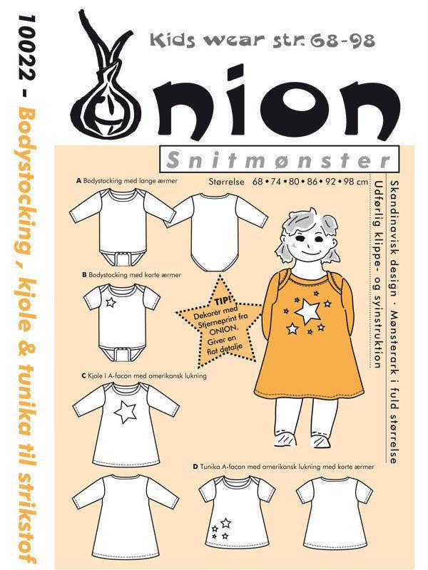 Bodystocking, kjole & tunika, str. 68-98 – Onion kids wear 10022 -