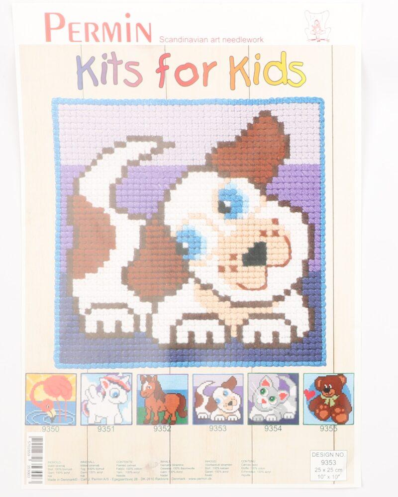 Kits for kids - Hund 25x25 cm -