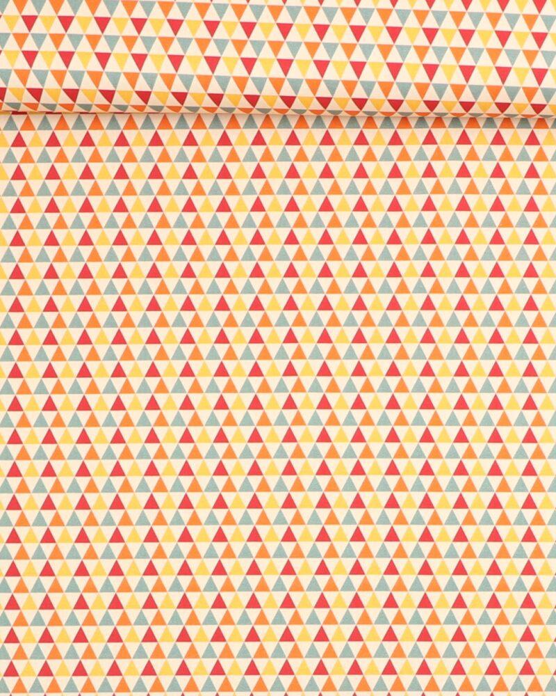 Små trekanter - Let bomuld -