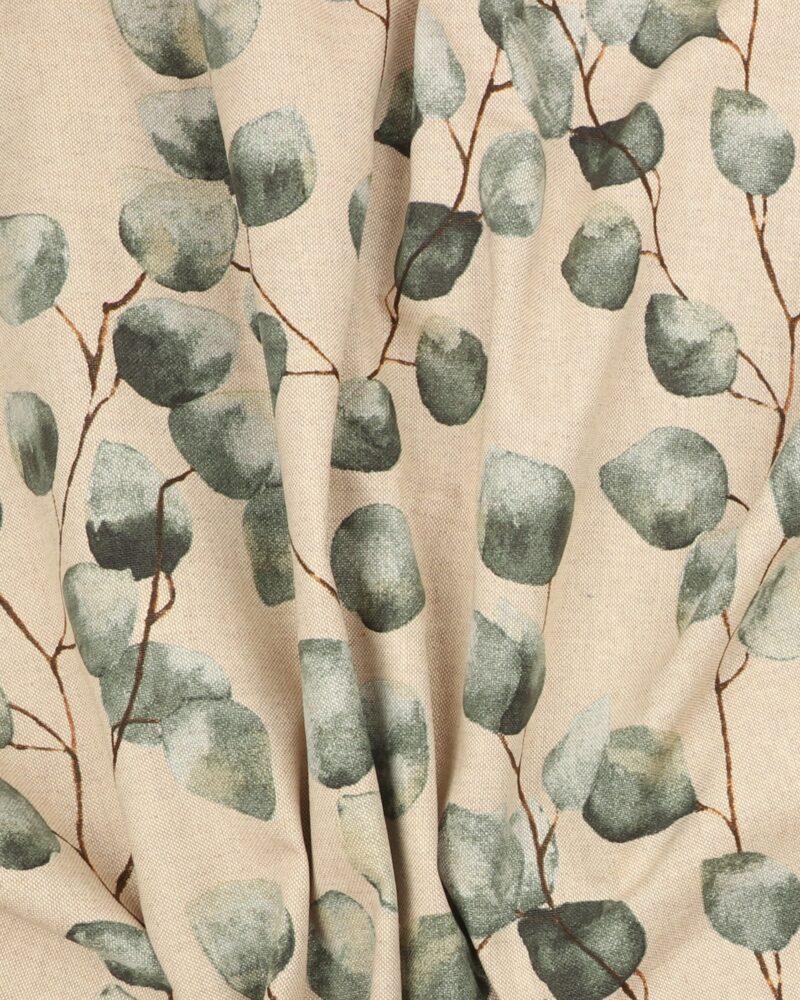 Blade på naturfarvet bund - Boligtekstil -
