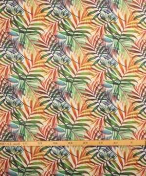 Multifarvet blade - Boligtekstil -