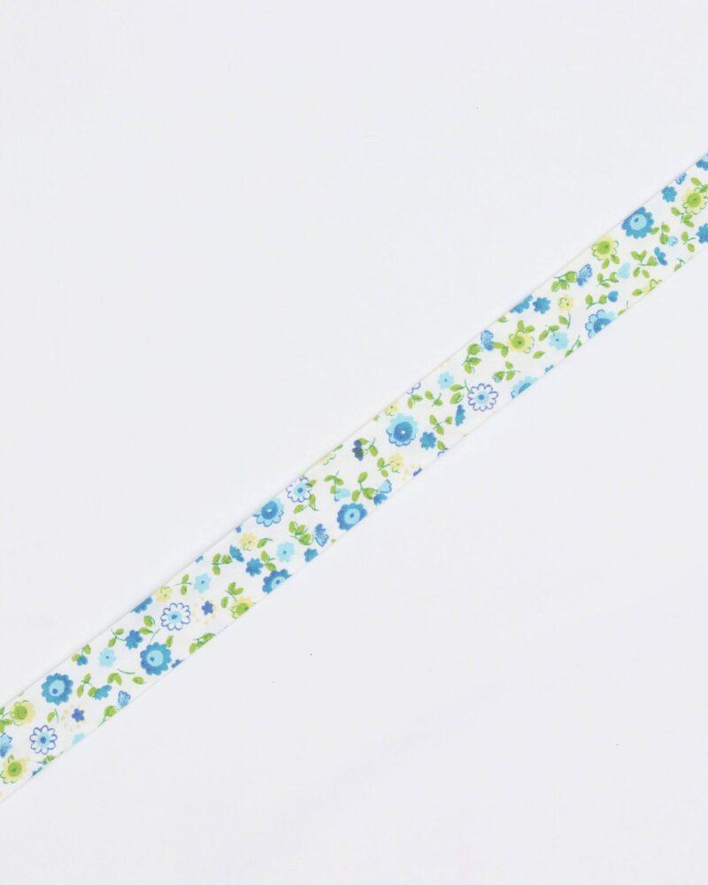 Blomster - 18 mm skråbånd -