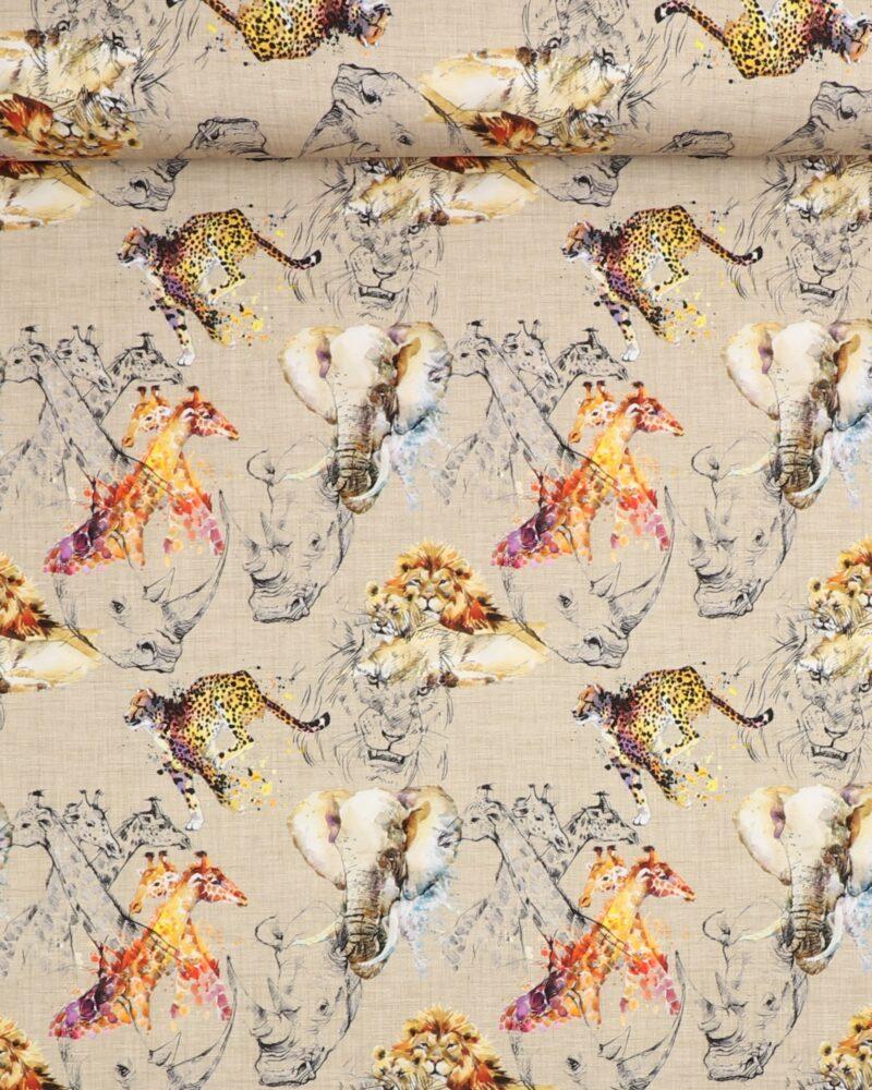 Næsehorn og geparder - Jersey -