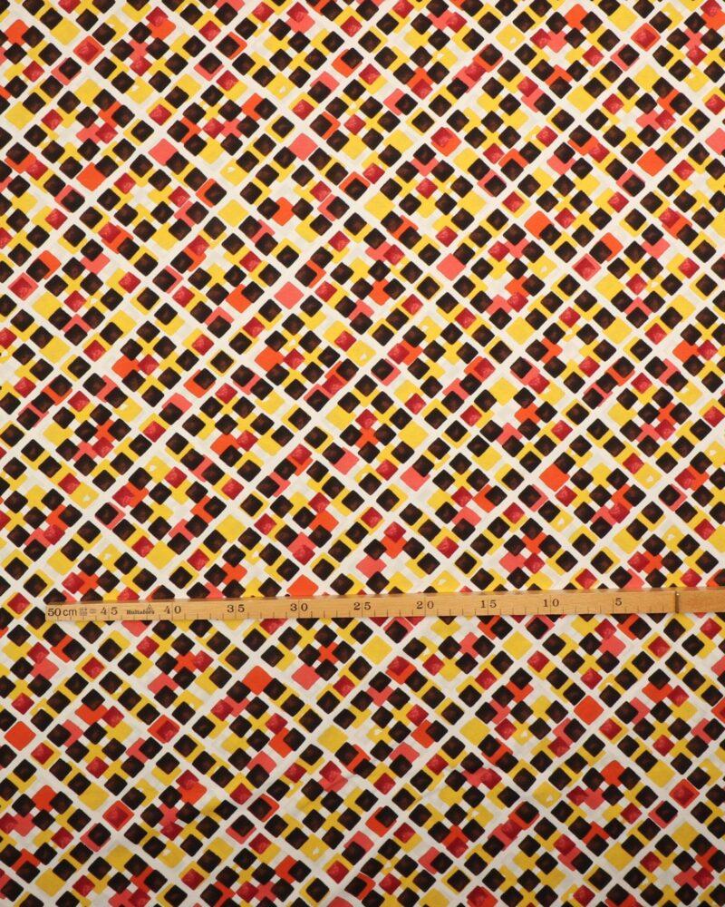 Farvede firkanter - Jersey -