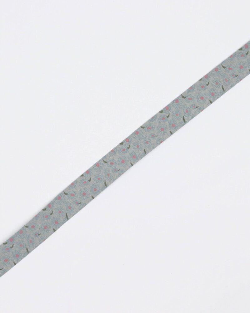 Tegnet blomst - 20 mm skråbånd -