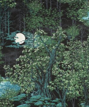In the moonlight, Starry night - Patchwork - Info mangler