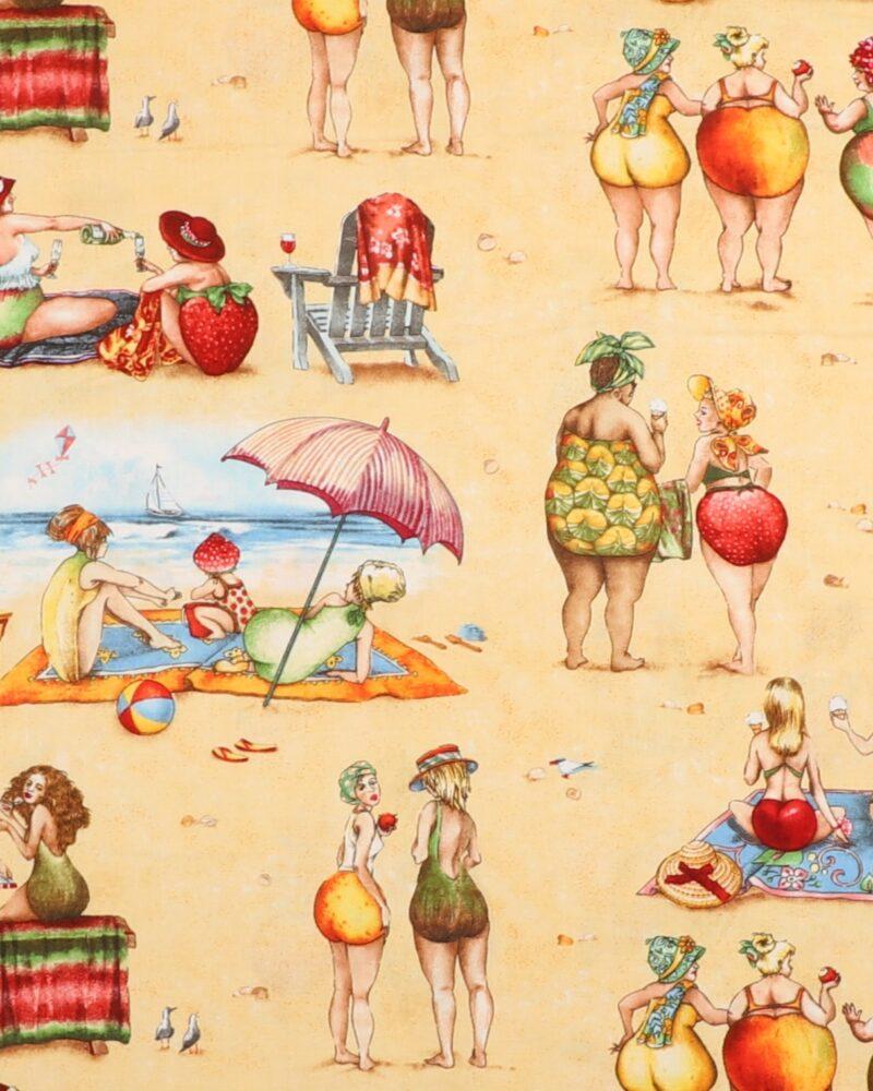 Fruit ladies 2 - Patchwork -