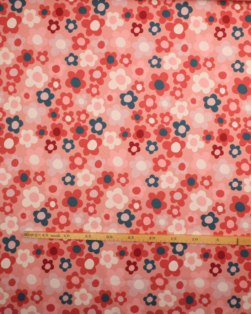 Retro blomster - Jersey -