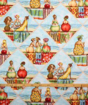 Fruit ladies 3 - Patchwork -