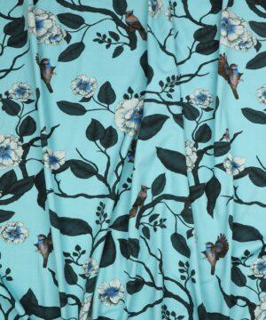 Blomster og fugle - Jersey - Info mangler