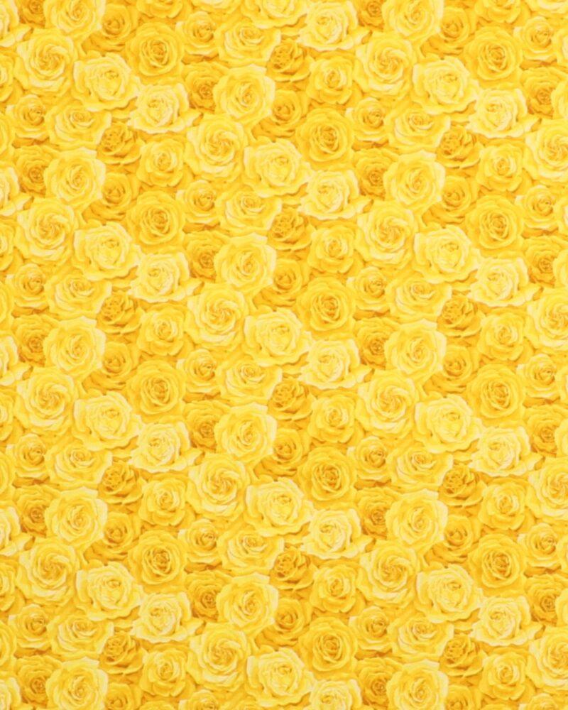 Summer Garden Packed Rose 1 - Patchwork -