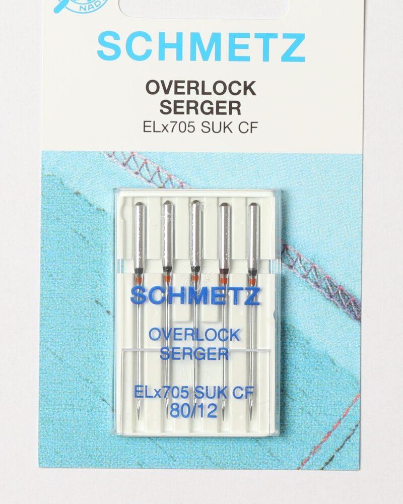 Schmetz Overlock symaskinenåle, str. 80 -