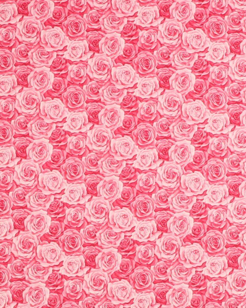 Summer Garden Packed Rose 2 - Patchwork -