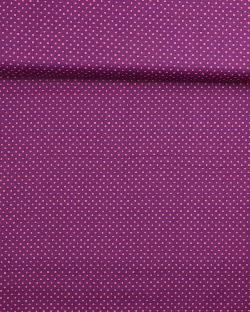 Prikker Lilla/lyserød- Patchwork -