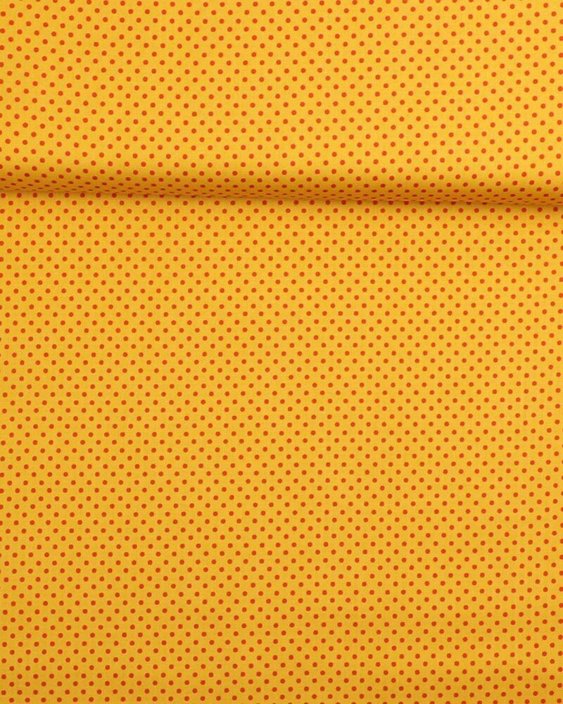 Prikker Gul/rød- Patchwork - Info mangler